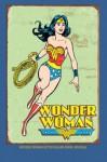 "Wonder Woman Retro Blank Book Journal: 6 x 9"", lined - NOT A BOOK"