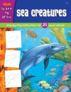 Sea Creatures: Step-by-step instructions for 25 ocean animals - Walter Foster Publishing, Russell Farrell