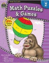 Ready Set Learn: Math Puzzles and Games (Grade 2) - Teacher Created Resources