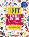 I Spy Sticker Book and Picture Riddles - Jean Marzollo, Walter Wick