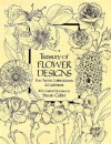 Treasury of Flower Designs for Artists, Embroiderers and Craftsmen - Susan Gaber
