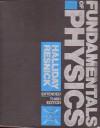 Fundamentals of Physics - David Halliday, John Merrill, Robert Resnick