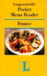 Pocket Menu Reader France - Langenscheidt
