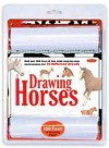Drawing Horses Kit: Roll out 100 feet of fun with step-by-step instructions for 22 different breeds! - Russell Farrell, Walter Foster Publishing