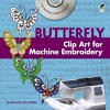 Chinese Butterfly Clip Art for Machine Embroidery - Alan Weller