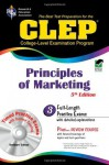 CLEP Principles of Marketing w/ TestWare CD - James E. Finch, James R. Ogden, Denise T. Ogden
