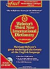 Webster's Third New International Dictionary [With CDROM] - Merriam-Webster