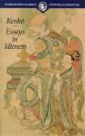 Essays in Idleness - Yoshida Kenkō
