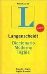 Langenscheidt Diccionario Moderno Ingles/ Langenscheidt Standard Spanish Dictionary (Langenscheidt Standard Dictionaries) - Langenscheidt Editiorial, Langenscheidt