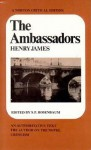 The Ambassadors - Henry James, S.P. Rosenbaum