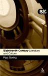 Eighteenth-Century Literature and Culture - Paul Goring