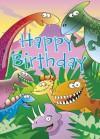 Happy Birthday - Dinosaur - Mark Davis