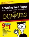 Creating Web Pages All-in-One Desk Reference For Dummies (For Dummies (Computers)) - Emily A. Vander Veer, Doug Lowe, Eric J. Ray