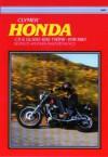 Honda Cx & Gl500/650 Twins 1978-1983 Service Repair Maintenance - Ed Scott