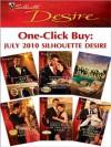 One-Click Buy: July 2010 Silhouette Desire - Kate Carlisle, Charlene Sands, Brenda Jackson, Maureen Child