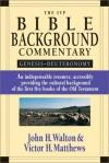 The IVP Bible Background Commentary: Genesis -- Deuteronomy - John H. Walton, Victor H. Matthews