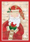 Merry Musical Santa Boxed Holiday Cards - Sellers Publishing, Inc.