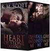 Heart of Stone Trilogy Box Set - K.M. Scott