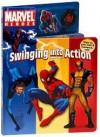 Marvel Heroes Swinging Into Action [With Spider-Man Figure] - Benjamin Harper