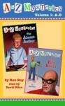 A to Z Mysteries: Books A-B [Volume 1] (audio) - Ron Roy, David Pittu