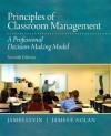 Principles of Classroom Management: A Professional Decision-Making Model - James Levin