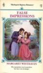False Impressions - Margaret Westhaven