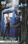 Star Trek TNG/Doctor Who: Assimilation #6 - Scott Tipton, David Tipton, J.K. Woodward