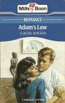 Adam's Law - Claudia Jameson