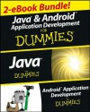 Java and Android Application Development For Dummies eBook Set - Barry Burd, Michael Burton, Donn Felker