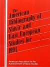 The American Bibliography of Slavic and East European Studies for 1994 - American Association for the Advancement