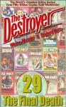 The Final Death (Destroyer #29) - Richard Ben Sapir, Warren Murphy