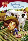 Pee Wee Scouts: Spring Sprouts (A Stepping Stone Book(TM)) - Judy Delton, Alan Tiegreen