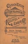 Catalogue of Keuffel and Esser 1913 Reprint - Ross Bolton