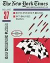 New York Times Daily Crossword Puzzles, Volume 37 - Eugene Maleska