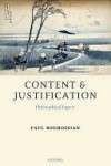 Content and Justification - Paul Boghossian