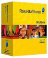 Rosetta Stone Version 3 German Level 1 & 2 Set with Audio Companion - Rosetta Stone