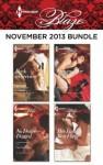 Harlequin Blaze November 2013 Bundle: Back in ServiceNo Desire DeniedDriving Her WildHer Last Best Fling - Isabel Sharpe, Cara Summers, Meg Maguire, Candace Havens