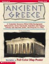 Ancient Greece: A Complete Resource Filled with Background Information, Cross-Curricular Activities and Games, Library and Internet Li [With Map Poste - Sean Stewart Price