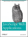 JavaScript Web Applications - Alex MacCaw