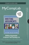 New Mycomplab with Pearson Etext -- Standalone Access Card -- For Writing Arguments: A Rhetoric with Readings - John D. Ramage, John C. Bean, June C. Johnson