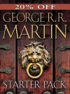 George R. R. Martin Starter Pack 4-Book Bundle: A Game of Thrones, Dreamsongs: Volume I, Fevre Dream, Armageddon Rag - George R.R. Martin