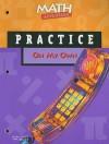 Math Advantage on My Own Practice Workbook, Grade 8 - Harcourt Brace