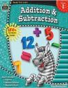 Addition & Subtraction, Grade 1 - Ina Massler Levin, Eric Migliaccio, Sarah Smith