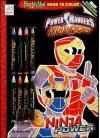 Power Rangers Ninja Storm Ninja Power Bright Idea Book to Color - Dalmatian Press