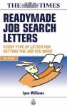 Readymade Job Search Letters - Lynn Williams