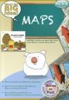Maps, Grades Pre-K-K [With CDROM] - Jay B. Johnson, Robert Rella