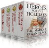 Heroes for the Holidays (Short Story Collection) - VR Marks, Regan Black