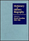 French Novelists, 1900-1930 (Dictionary of Literary Biography) - Catharine Savage Brosman