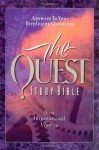 The Quest Study Bible: New International Version - Marshall Shelley