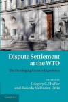 Dispute Settlement at the Wto: The Developing Country Experience - Gregory C Shaffer, Ricardo Mel Ndez-Ortiz, Ricardo Melendez-Ortiz